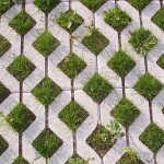 grass paver blocks